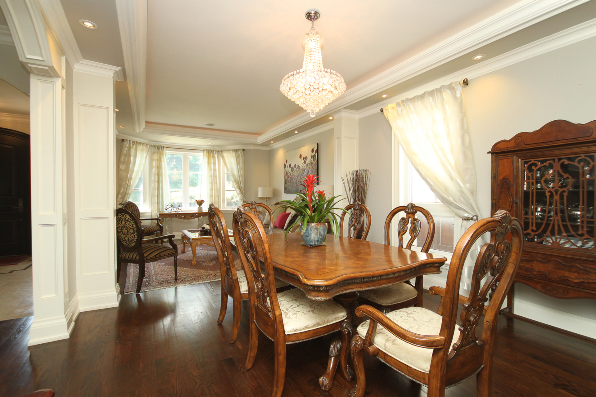 Dining Room at 25 Rialto Drive, Parkwoods-Donalda, Toronto