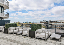 Rooftop Balcony at 203 - 99 The Donway W, Banbury-Don Mills, Toronto