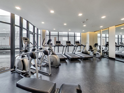 Exercise Room at 203 - 99 The Donway W, Banbury-Don Mills, Toronto