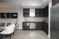 Kitchen at 203 - 99 The Donway W, Banbury-Don Mills, Toronto