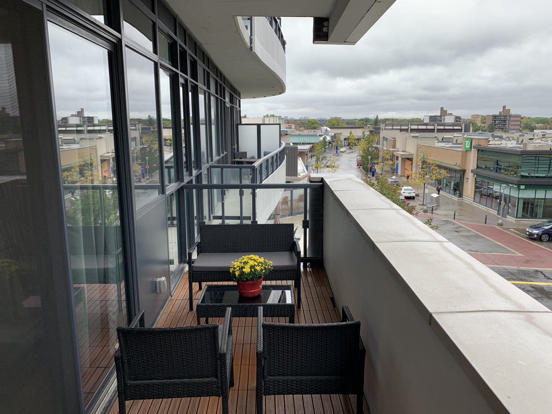 Balcony at 203 - 99 The Donway W, Banbury-Don Mills, Toronto