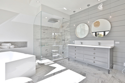 5 Piece Ensuite Bathroom at 47 Yorkview Drive, Willowdale West, Toronto