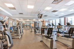 Exercise Room at 309 - 7 Concorde Place, Banbury-Don Mills, Toronto