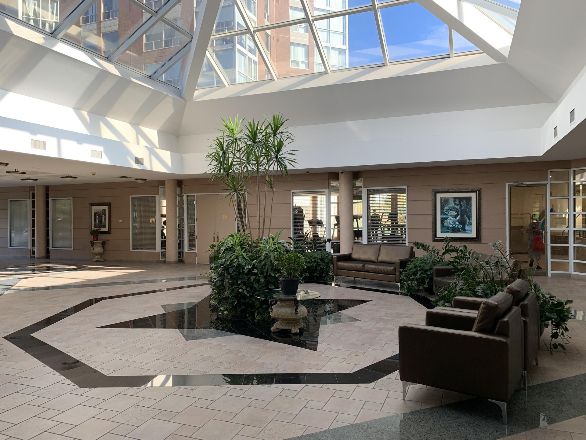 Atrium at 309 - 7 Concorde Place, Banbury-Don Mills, Toronto
