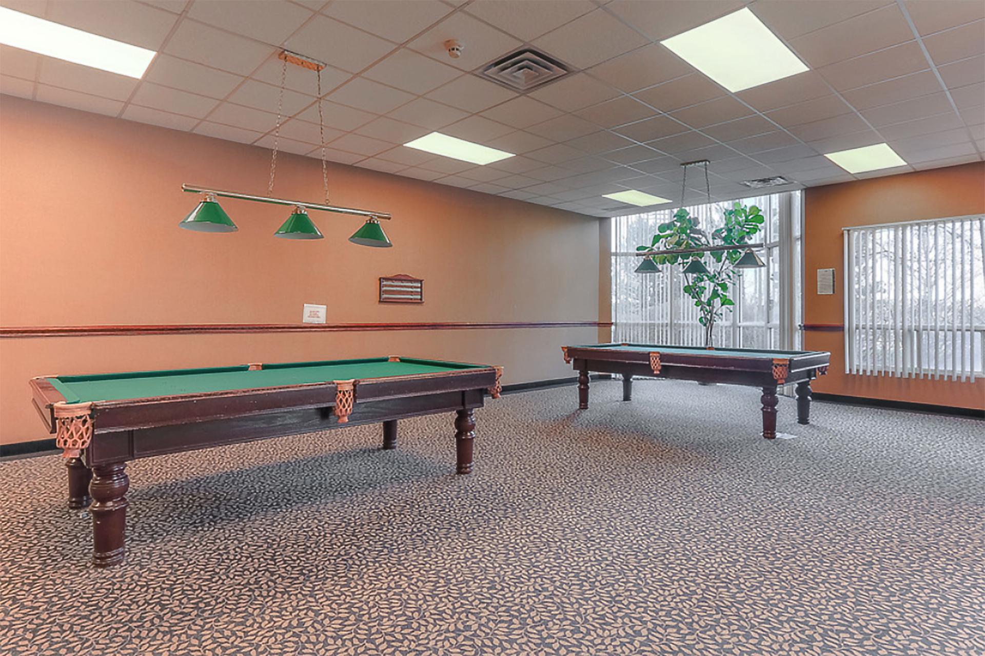 Billiards Room at 309 - 7 Concorde Place, Banbury-Don Mills, Toronto