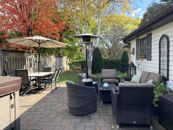 Backyard at 93 Duncairn Road, Banbury-Don Mills, Toronto