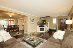 Living & Dining Room at 93 Duncairn Road, Banbury-Don Mills, Toronto
