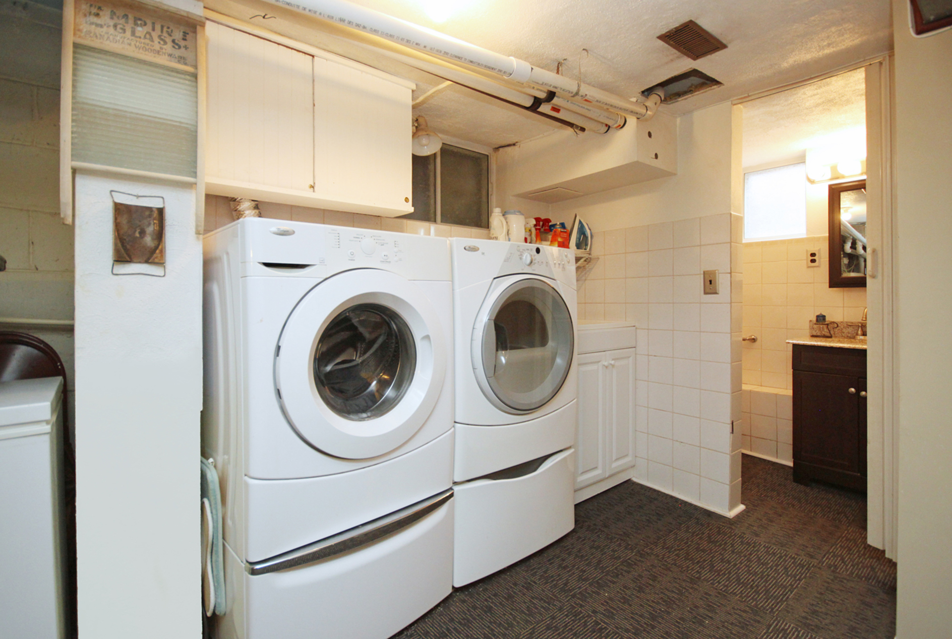 Laundry Room at 93 Duncairn Road, Banbury-Don Mills, Toronto