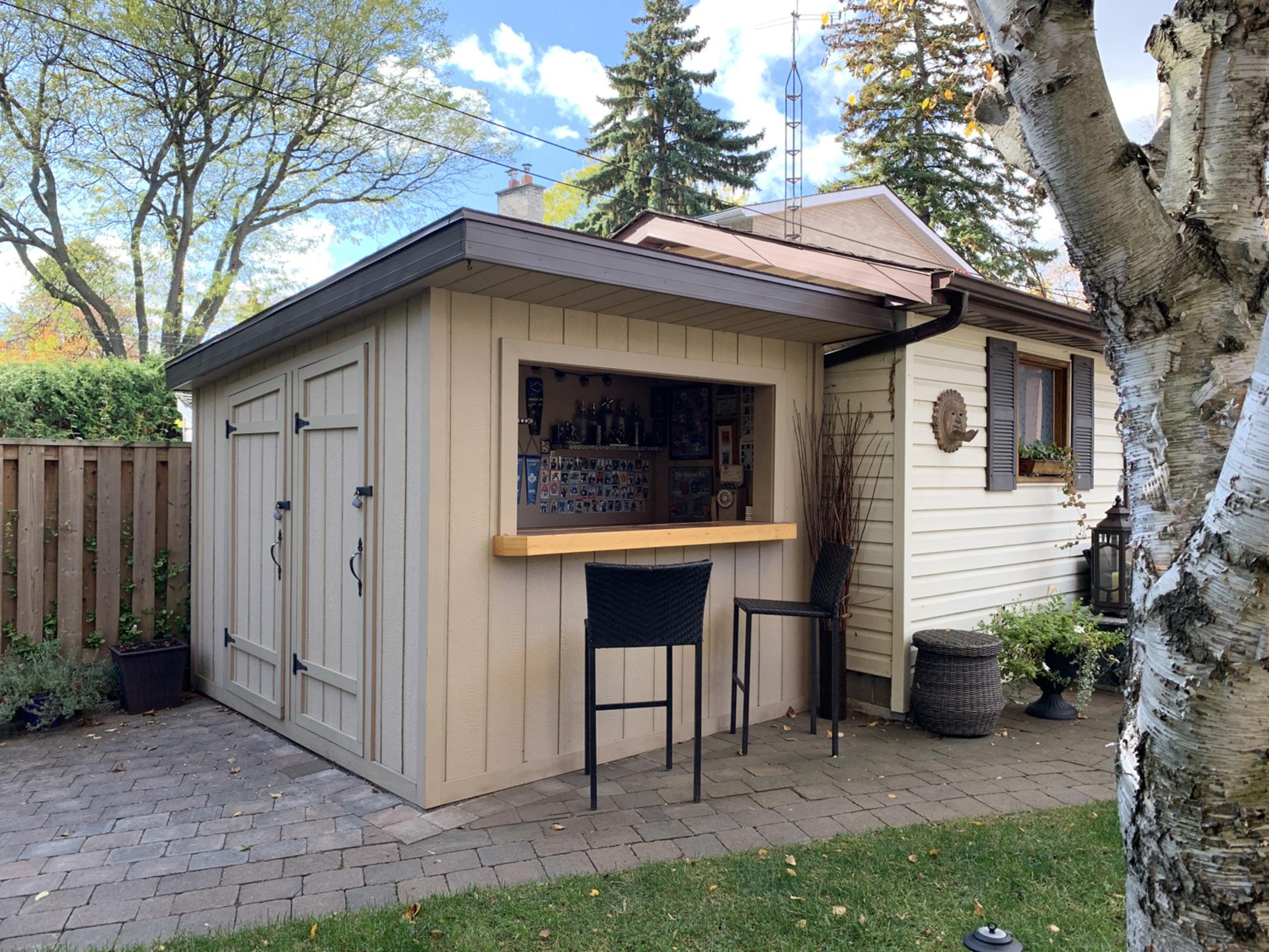 Backyard at 93 Duncairn Road, Banbury-Don Mills, Toronto