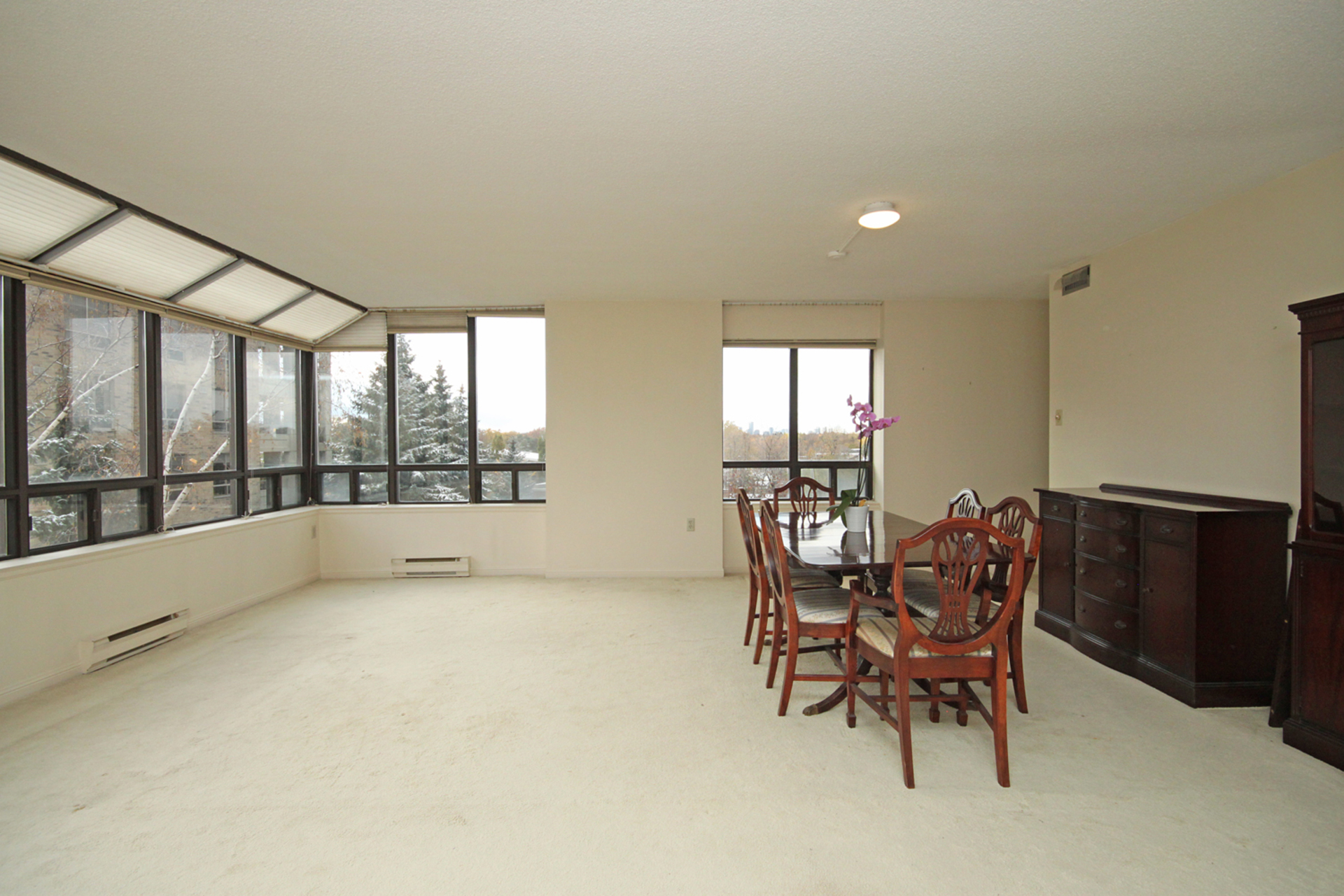 Living & Dining Room at 508 - 245 The Donway W, Banbury-Don Mills, Toronto
