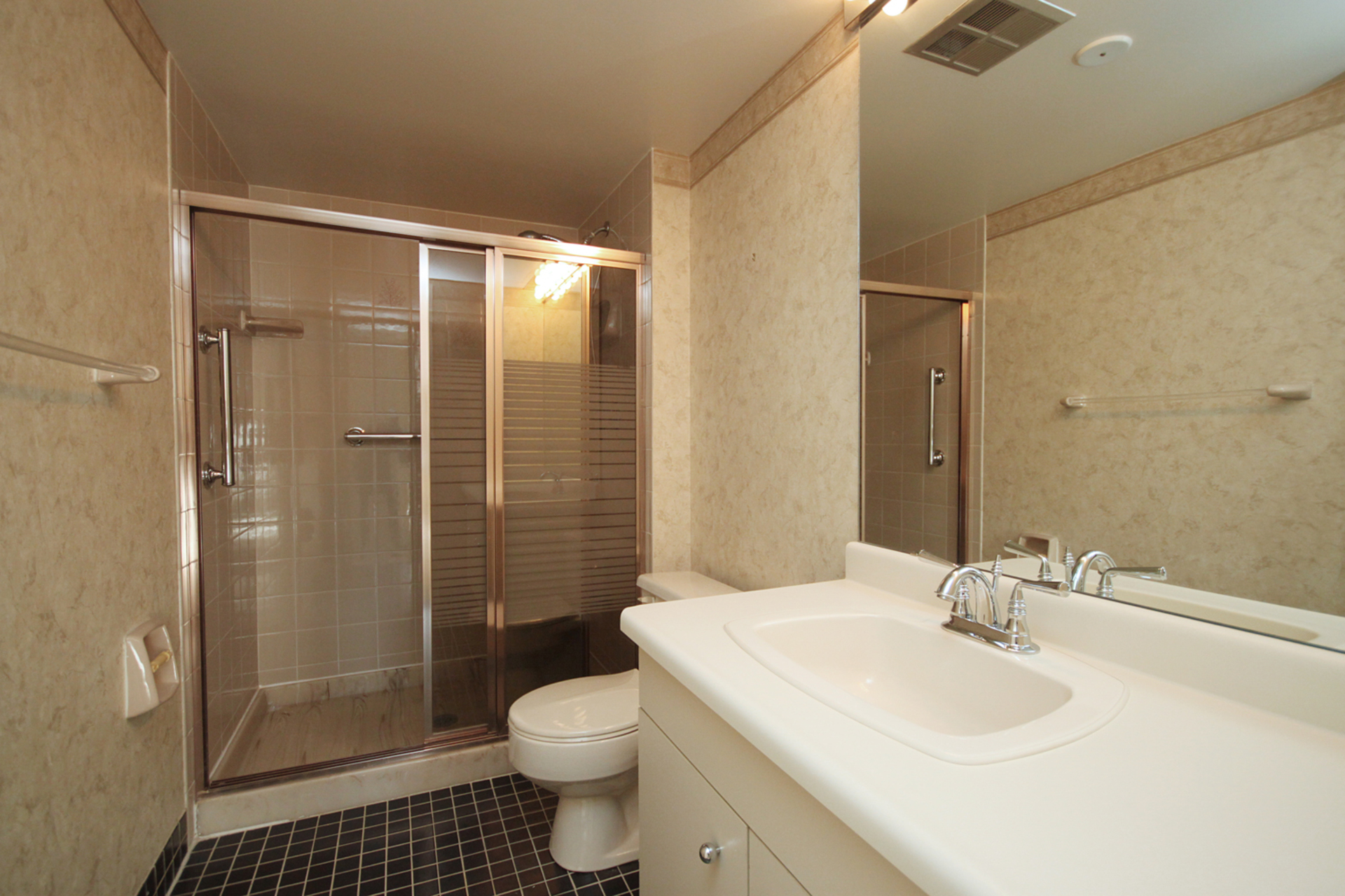 3 Piece Bathroom at 508 - 245 The Donway W, Banbury-Don Mills, Toronto
