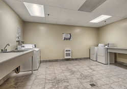 Building Laundry Room at 1704 - 1350 York Mills Road, Parkwoods-Donalda, Toronto