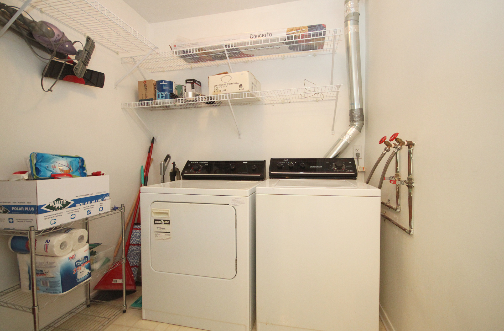 Ensuite Laundry Room at 1704 - 1350 York Mills Road, Parkwoods-Donalda, Toronto