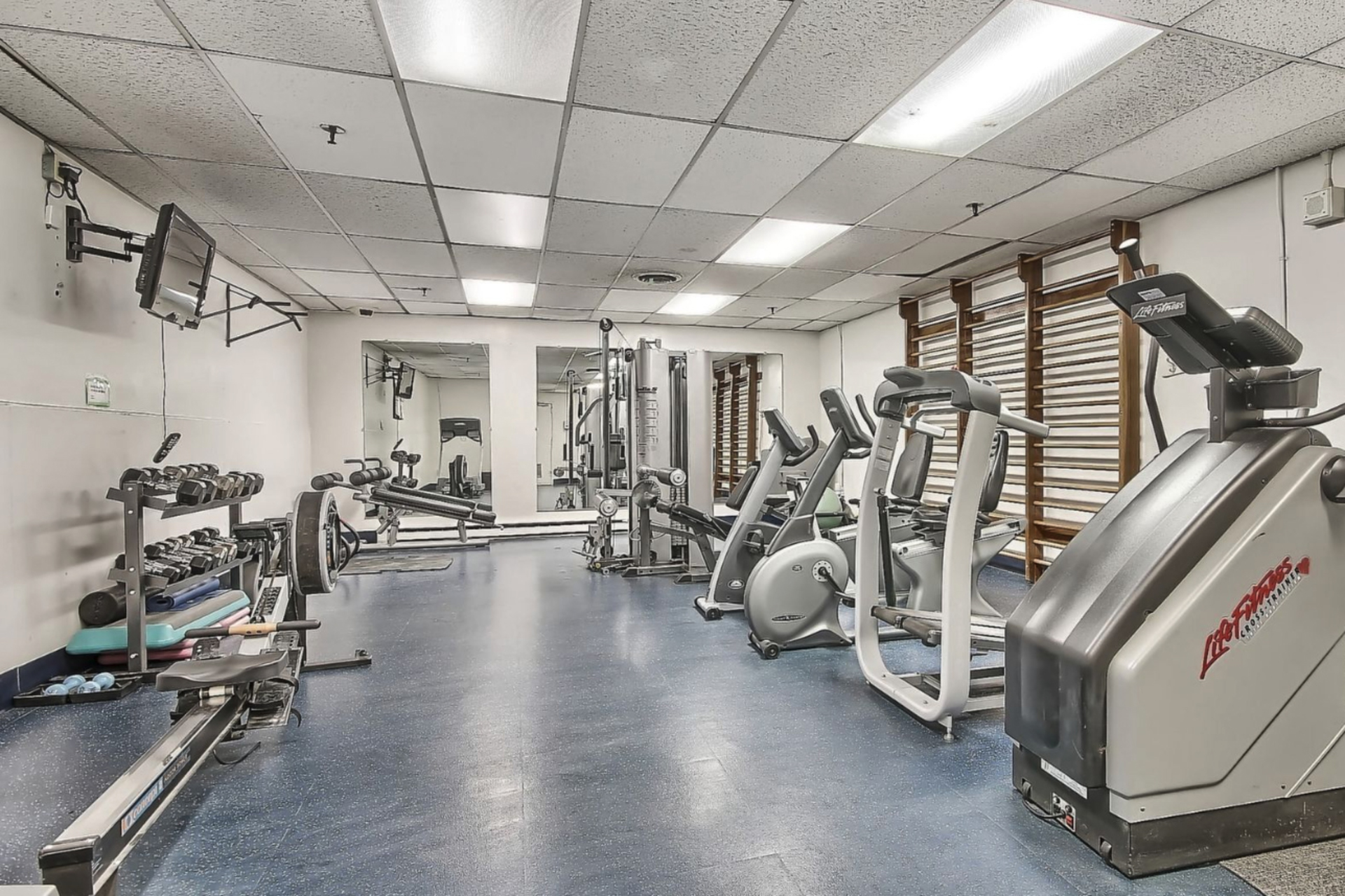 Exercise Room at 1704 - 1350 York Mills Road, Parkwoods-Donalda, Toronto