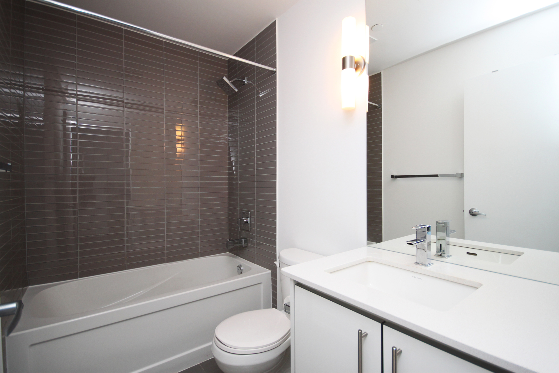 4 Piece Bathroom at 105 - 75 The Donway Donway W, Banbury-Don Mills, Toronto