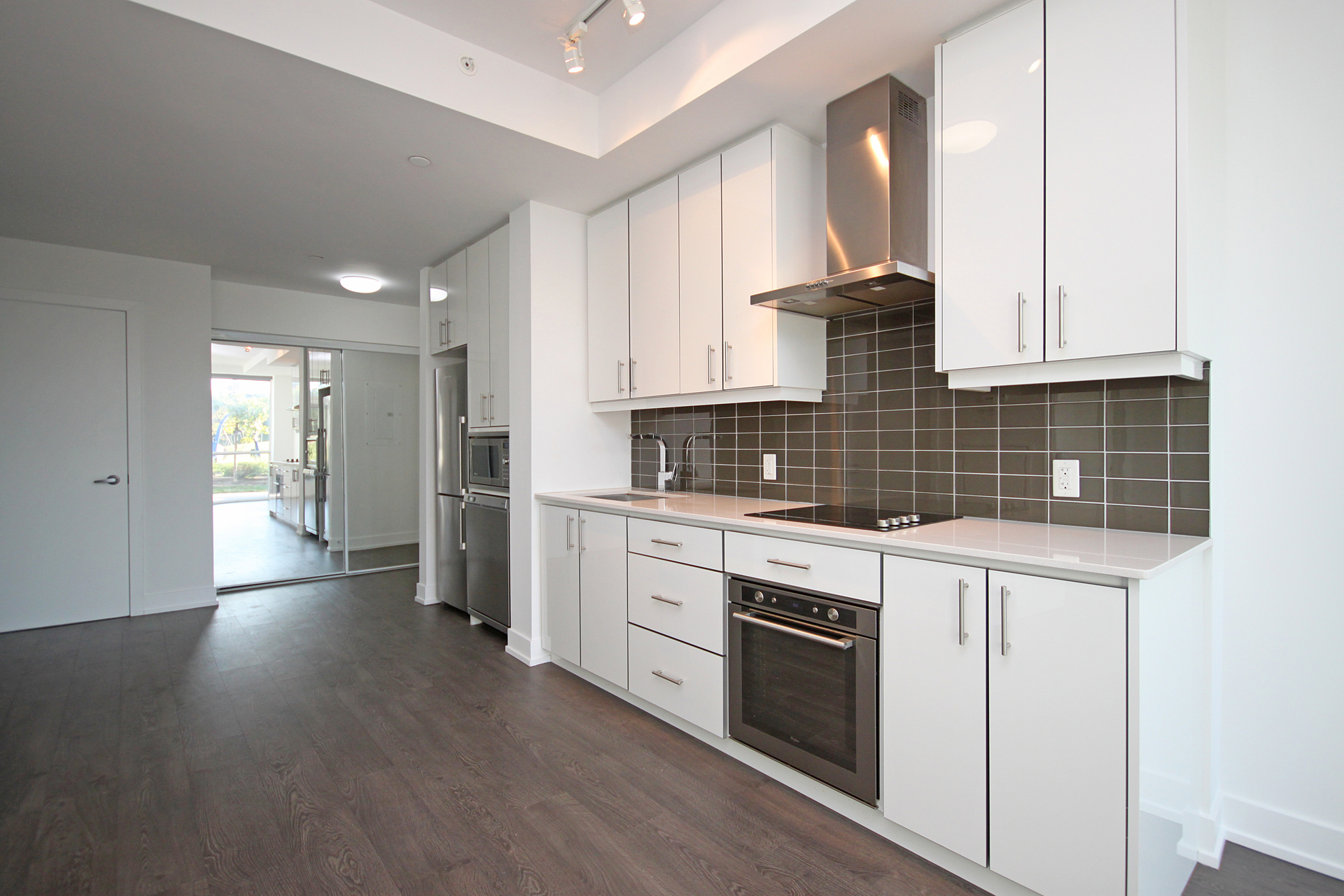 Kitchen at 105 - 75 The Donway Donway W, Banbury-Don Mills, Toronto