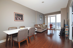 Dining & Living Room at 708 - 85 The Donway W, Banbury-Don Mills, Toronto