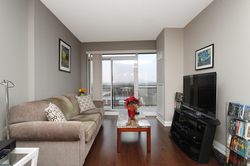 Living Room at 708 - 85 The Donway Donway W, Banbury-Don Mills, Toronto