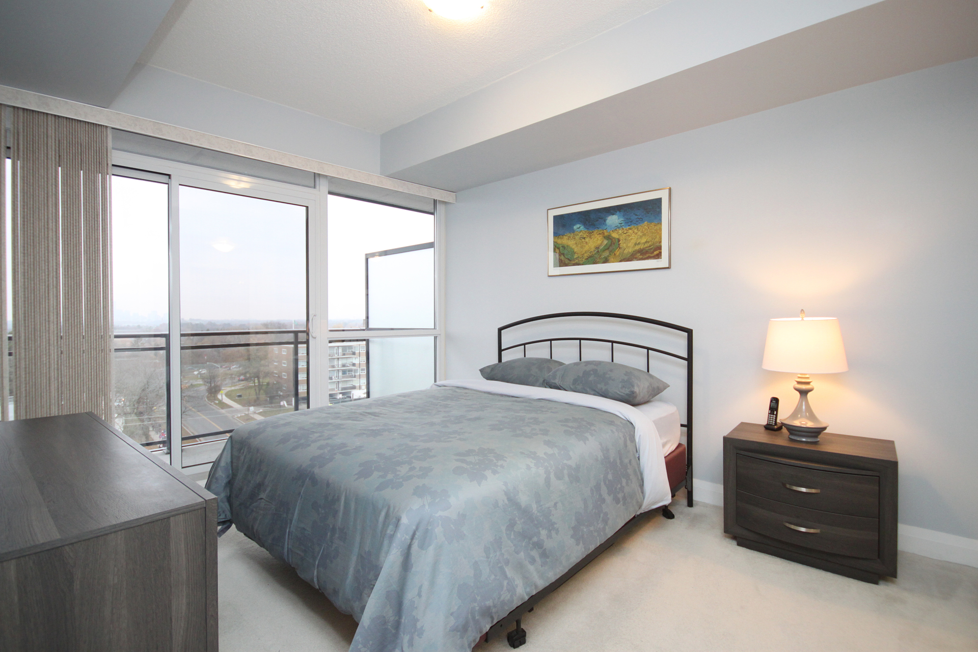 Master Bedroom at 708 - 85 The Donway W, Banbury-Don Mills, Toronto