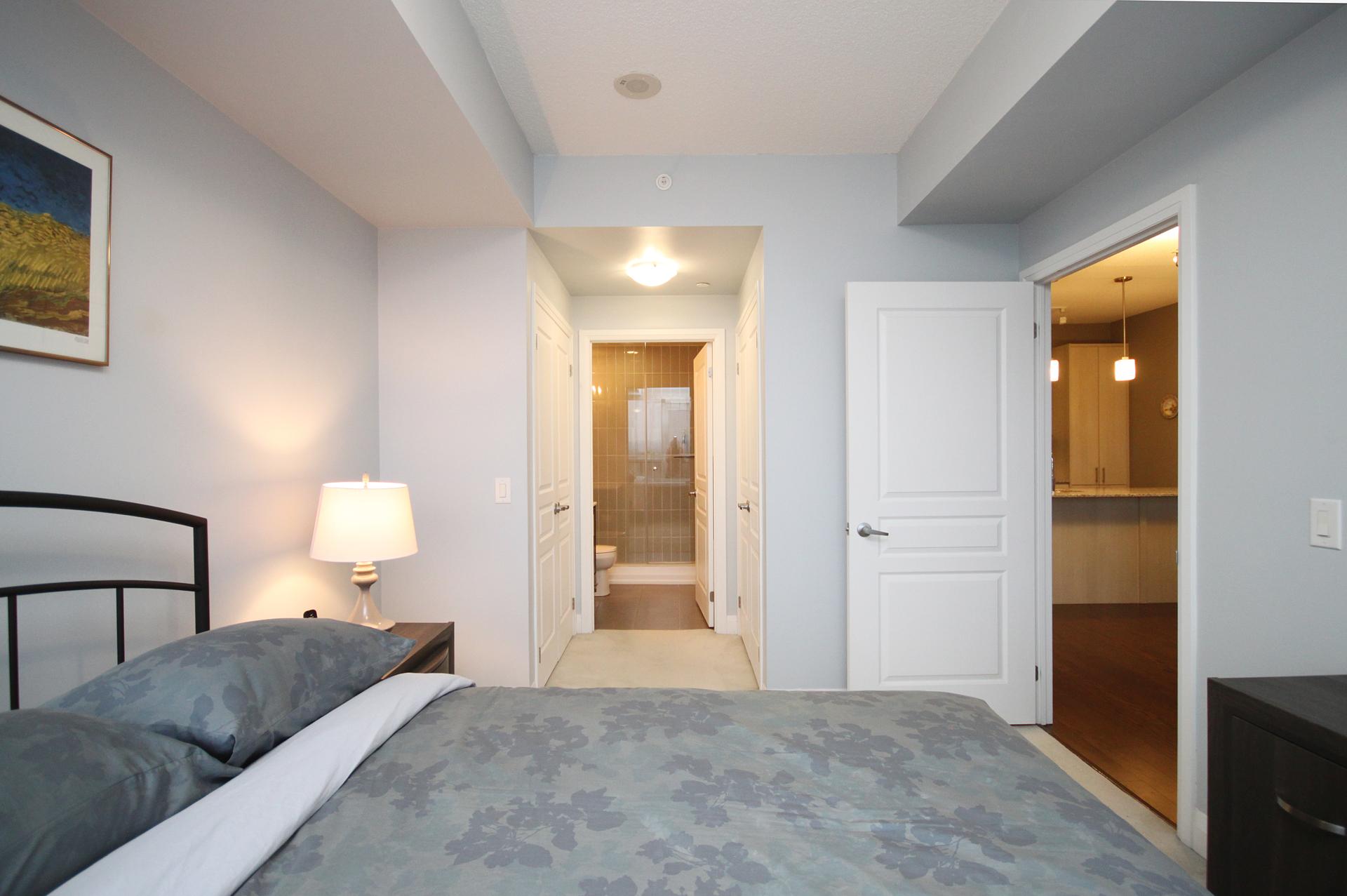 Master Bedroom at 708 - 85 The Donway Donway W, Banbury-Don Mills, Toronto