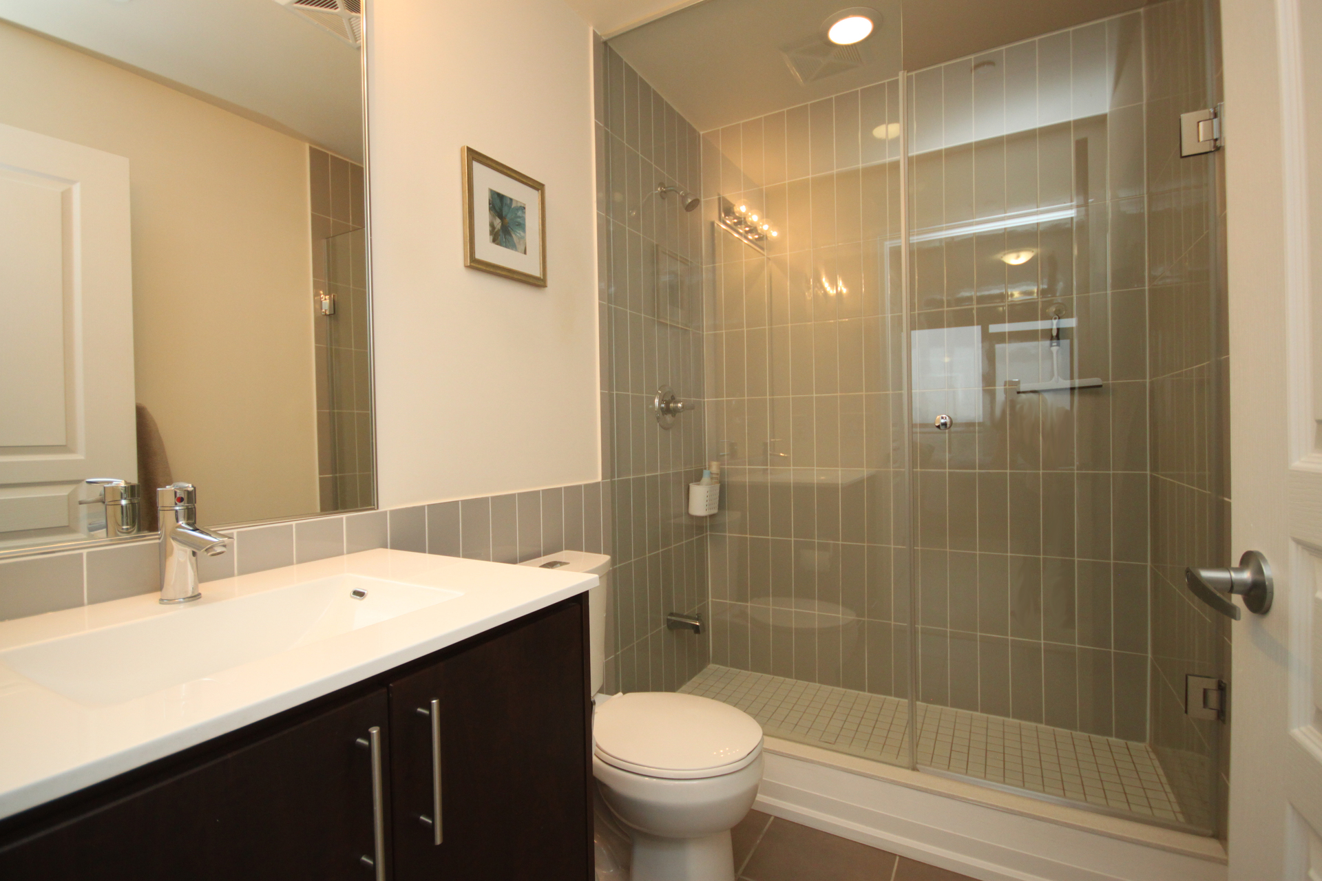 3 Piece Bathroom at 708 - 85 The Donway W, Banbury-Don Mills, Toronto