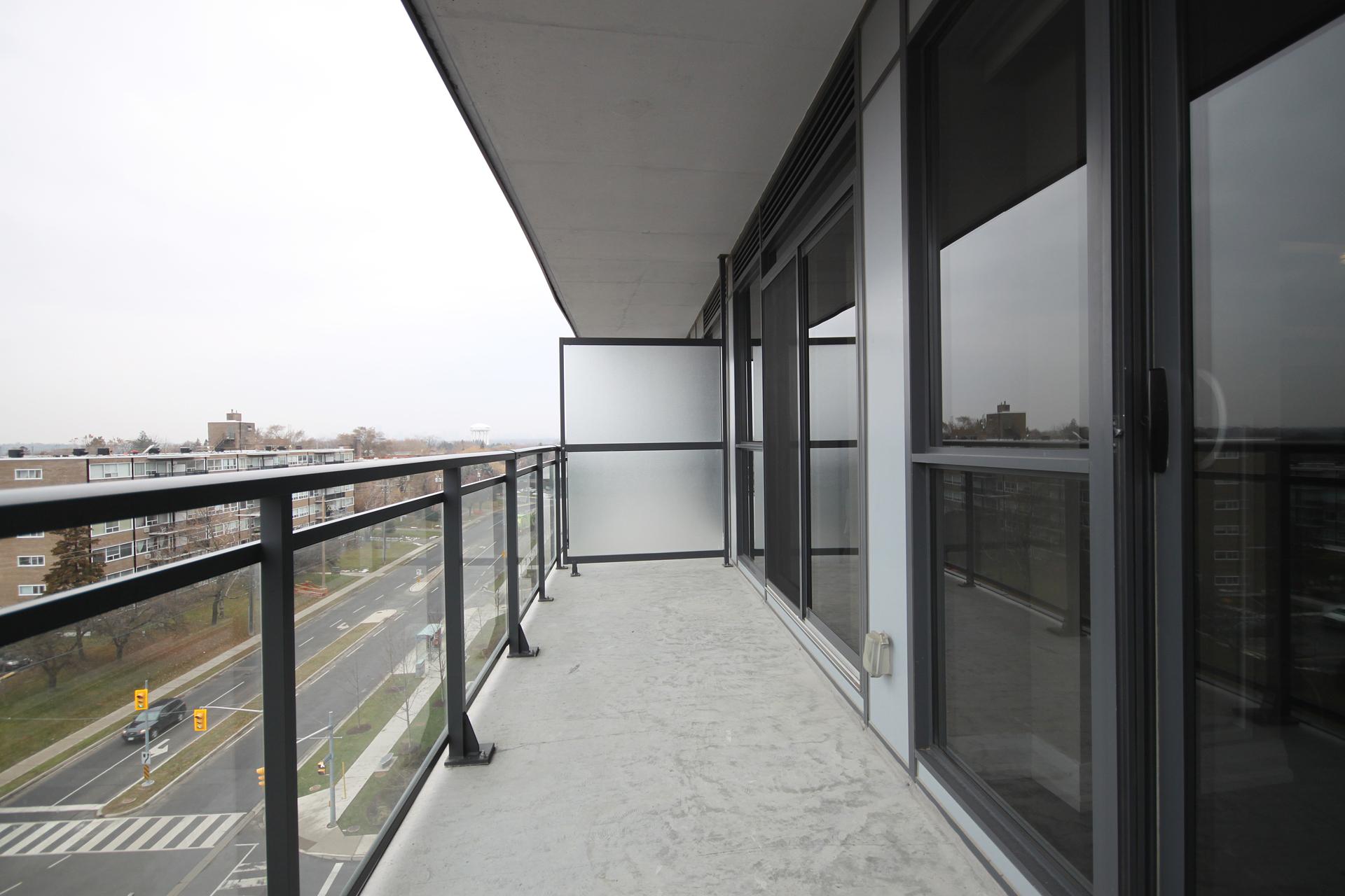 Balcony at 708 - 85 The Donway Donway W, Banbury-Don Mills, Toronto