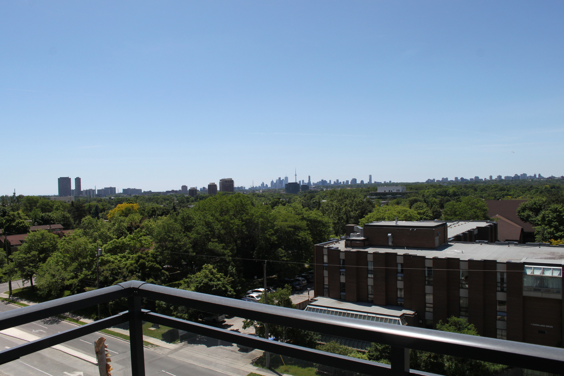 Balcony View at 708 - 85 The Donway Donway W, Banbury-Don Mills, Toronto