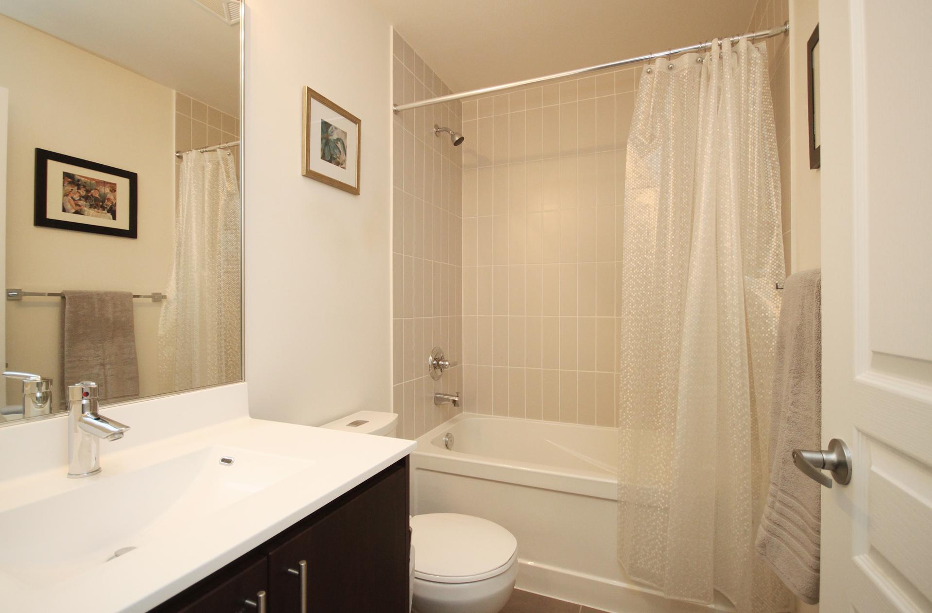 4 Piece Bathroom at 708 - 85 The Donway Donway W, Banbury-Don Mills, Toronto