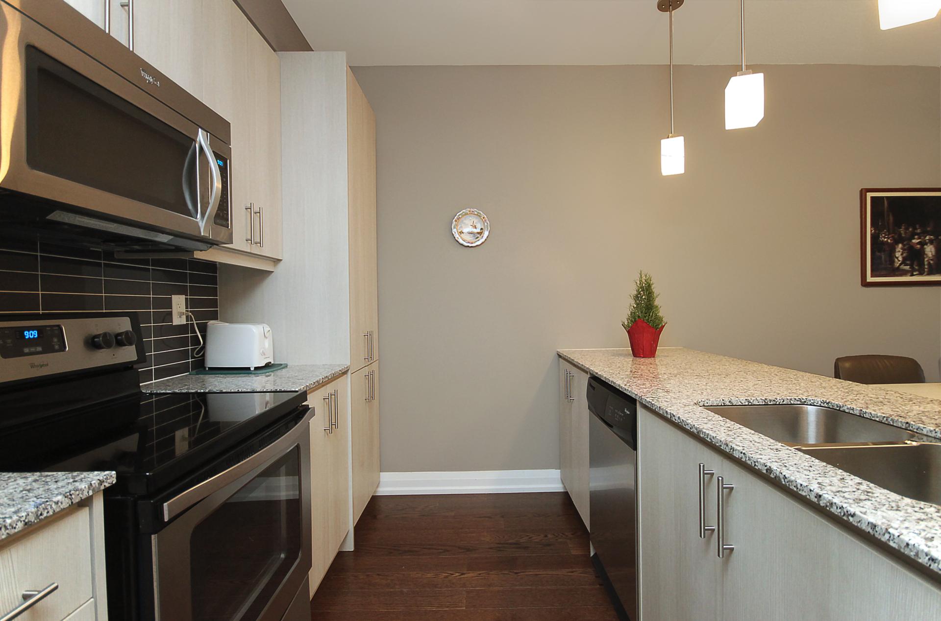 Kitchen at 708 - 85 The Donway Donway W, Banbury-Don Mills, Toronto