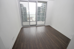 Master Bedroom at 4009 - 10 Park Lawn Road, Mimico, Toronto