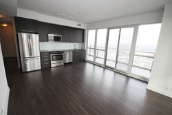 Kitchen at 4009 - 10 Park Lawn Road, Mimico, Toronto