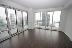 Living & Dining Room at 4009 - 10 Park Lawn Road, Mimico, Toronto