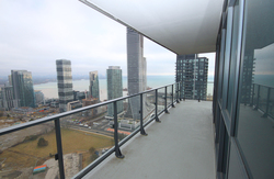 Balcony at 4009 - 10 Park Lawn Road, Mimico, Toronto