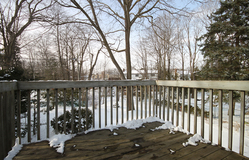 Deck from Kitchen at 6 Redwillow Drive, Parkwoods-Donalda, Toronto
