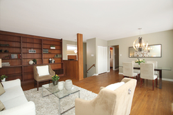 Living & Dining Room at 6 Redwillow Drive, Parkwoods-Donalda, Toronto