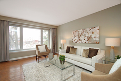 Living Room at 6 Redwillow Drive, Parkwoods-Donalda, Toronto