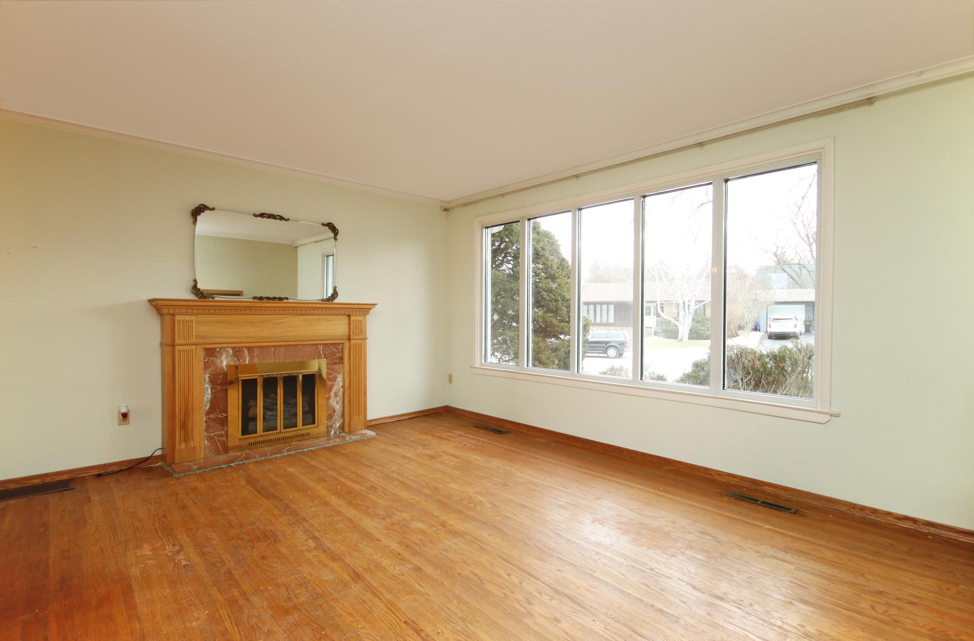 Living Room at 110 Plateau Crescent, Banbury-Don Mills, Toronto