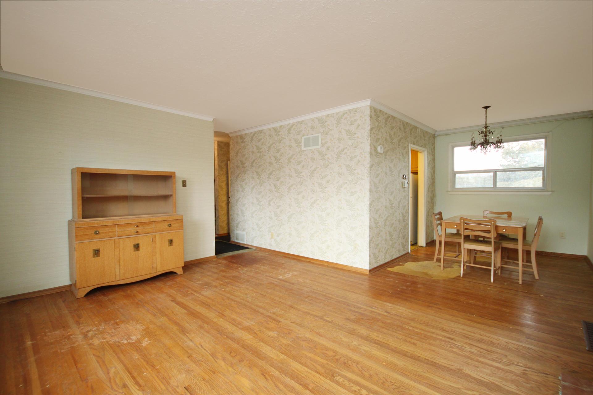 Living & Dining Room at 110 Plateau Crescent, Banbury-Don Mills, Toronto