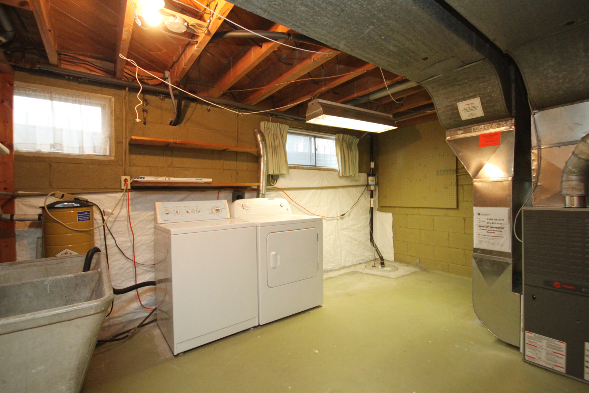 Laundry Room at 110 Plateau Crescent, Banbury-Don Mills, Toronto