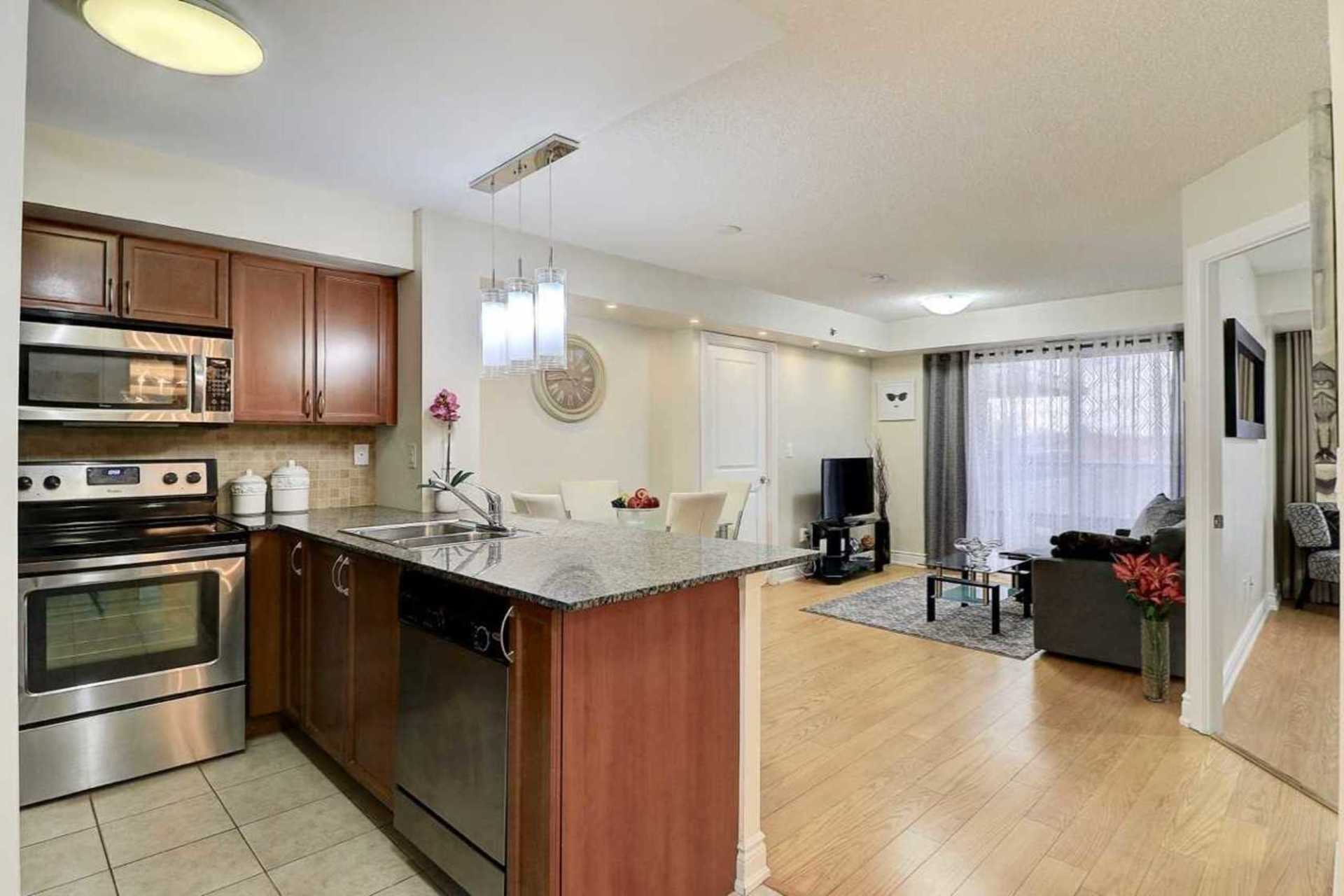 Kitchen at 401 - 760 Sheppard Avenue W, Bathurst Manor, Toronto