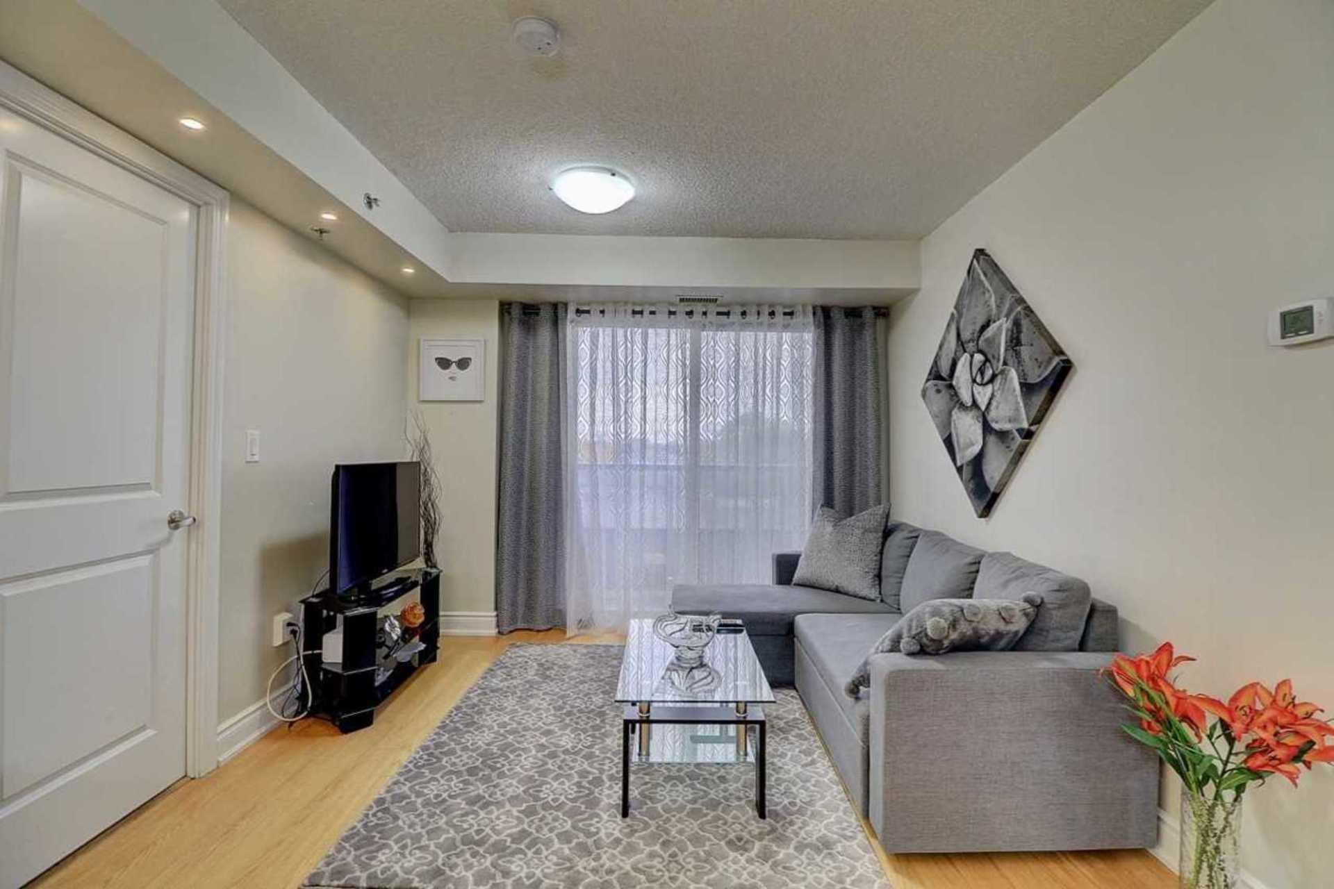 Living Room at 401 - 760 Sheppard Avenue W, Bathurst Manor, Toronto