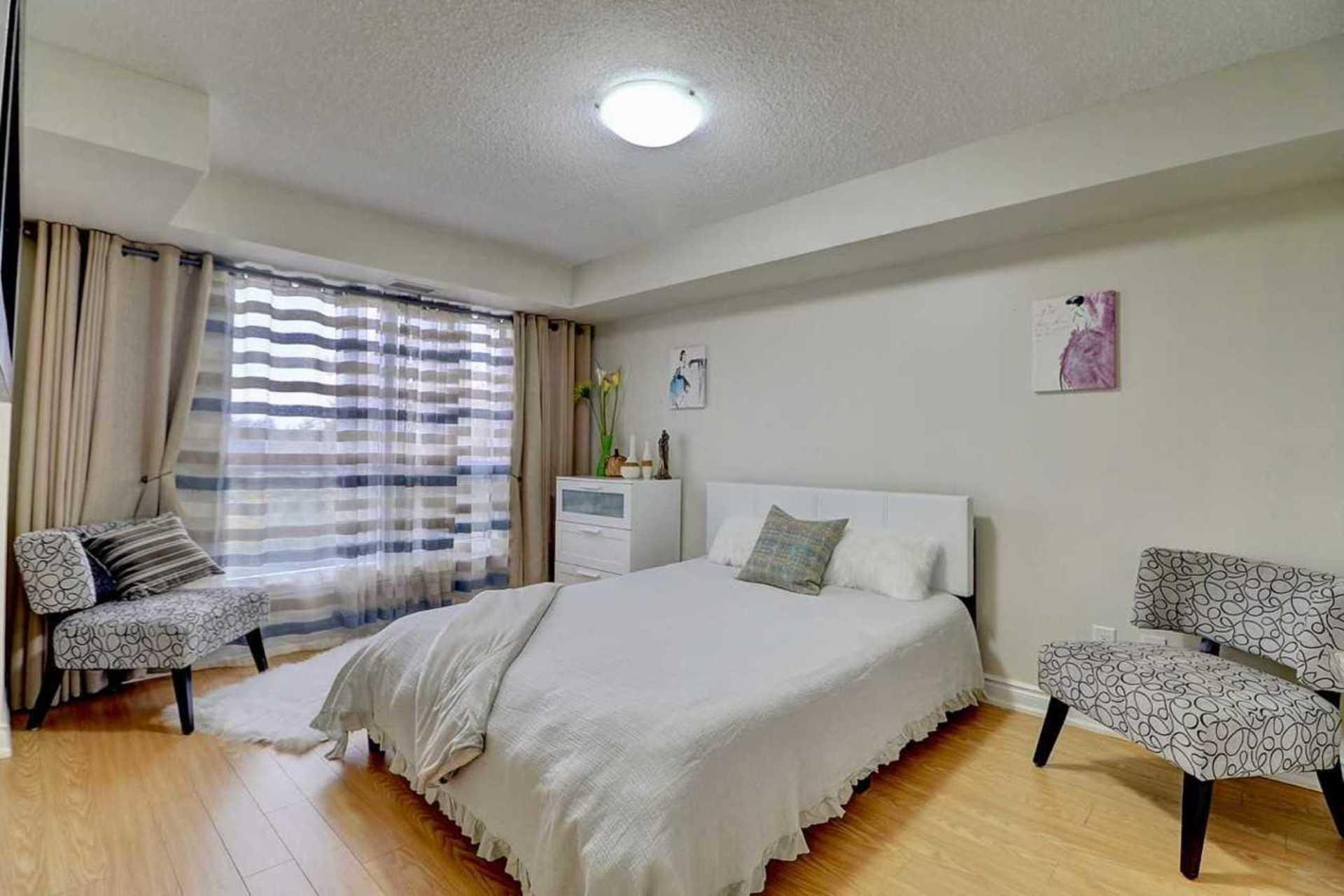 Master Bedroom at 401 - 760 Sheppard Avenue W, Bathurst Manor, Toronto