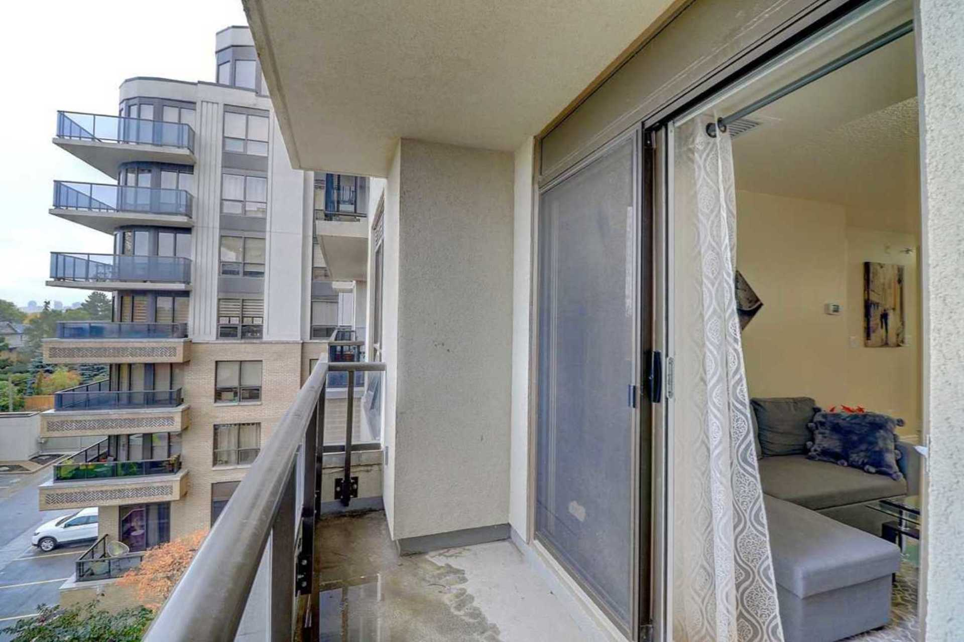 Balcony at 401 - 760 Sheppard Avenue W, Bathurst Manor, Toronto