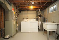 Laundry Room at 21 Kestell Lane, Parkwoods-Donalda, Toronto