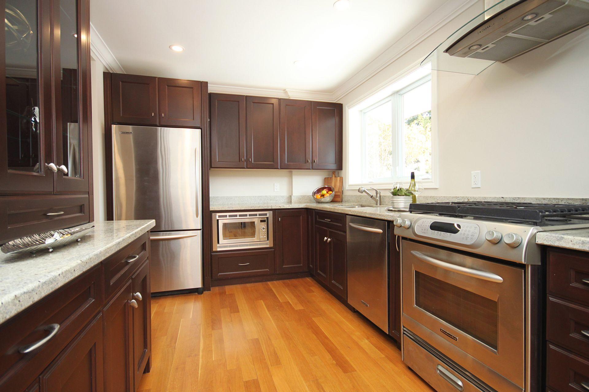 Kitchen at 21 Kestell Lane, Parkwoods-Donalda, Toronto