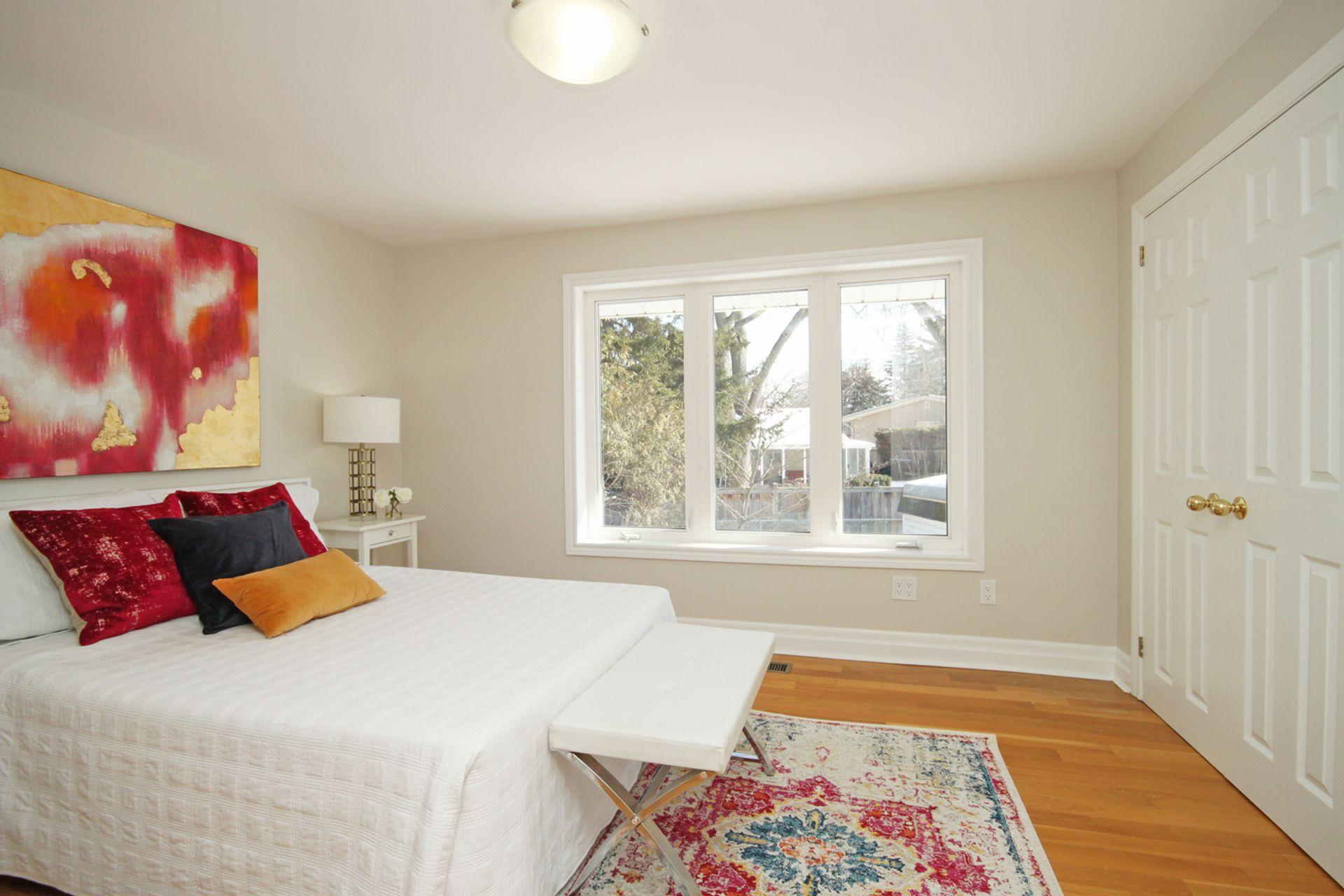 Primary Bedroom at 21 Kestell Lane, Parkwoods-Donalda, Toronto