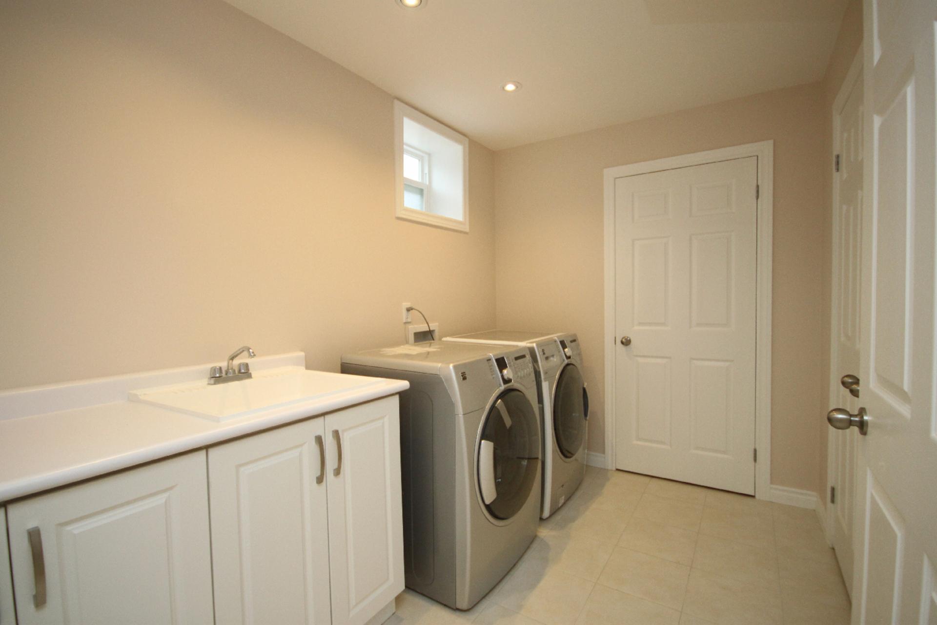Laundry Room at 11 Tetbury Crescent, Parkwoods-Donalda, Toronto