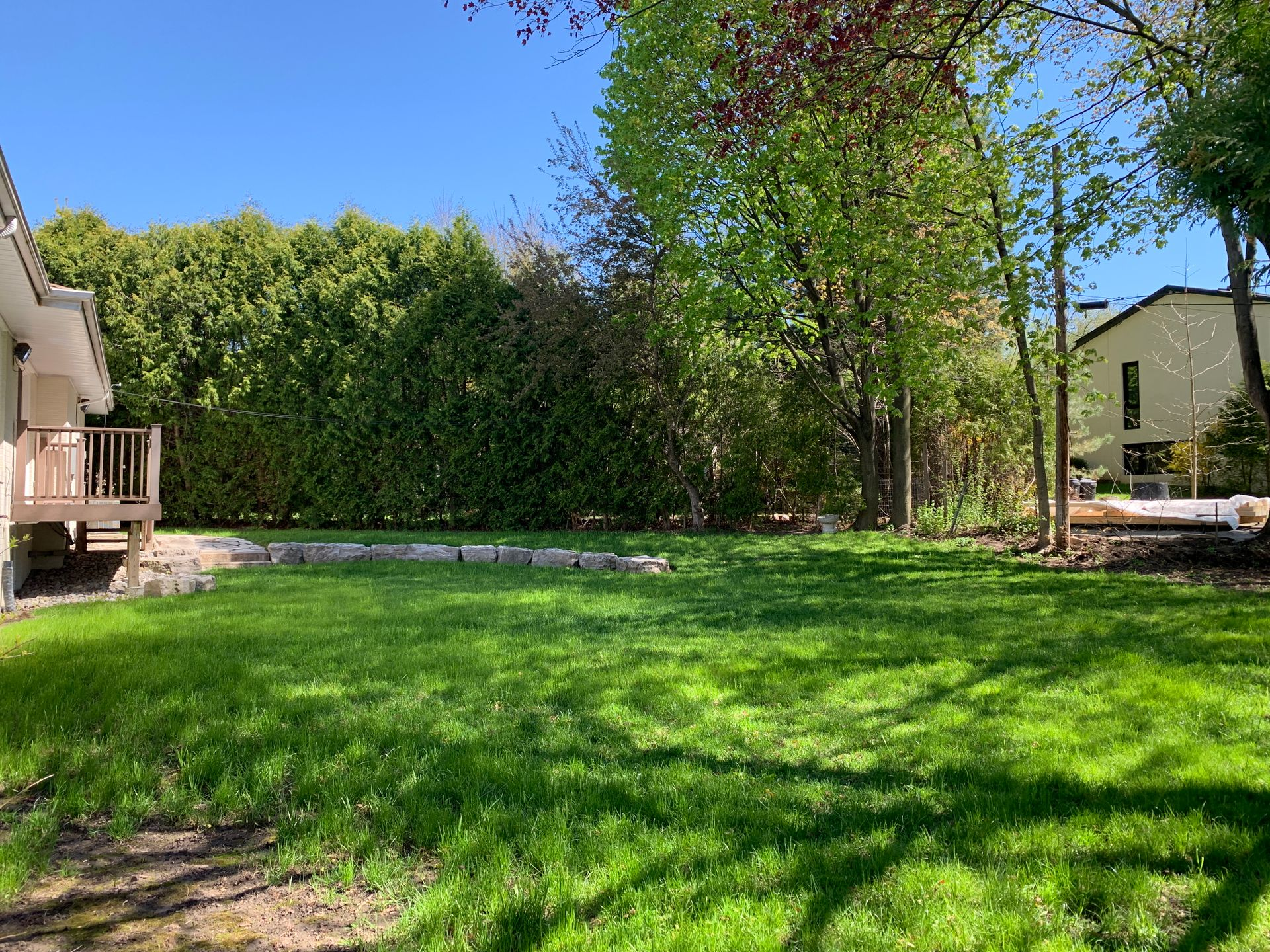 Backyard at 11 Tetbury Crescent, Parkwoods-Donalda, Toronto