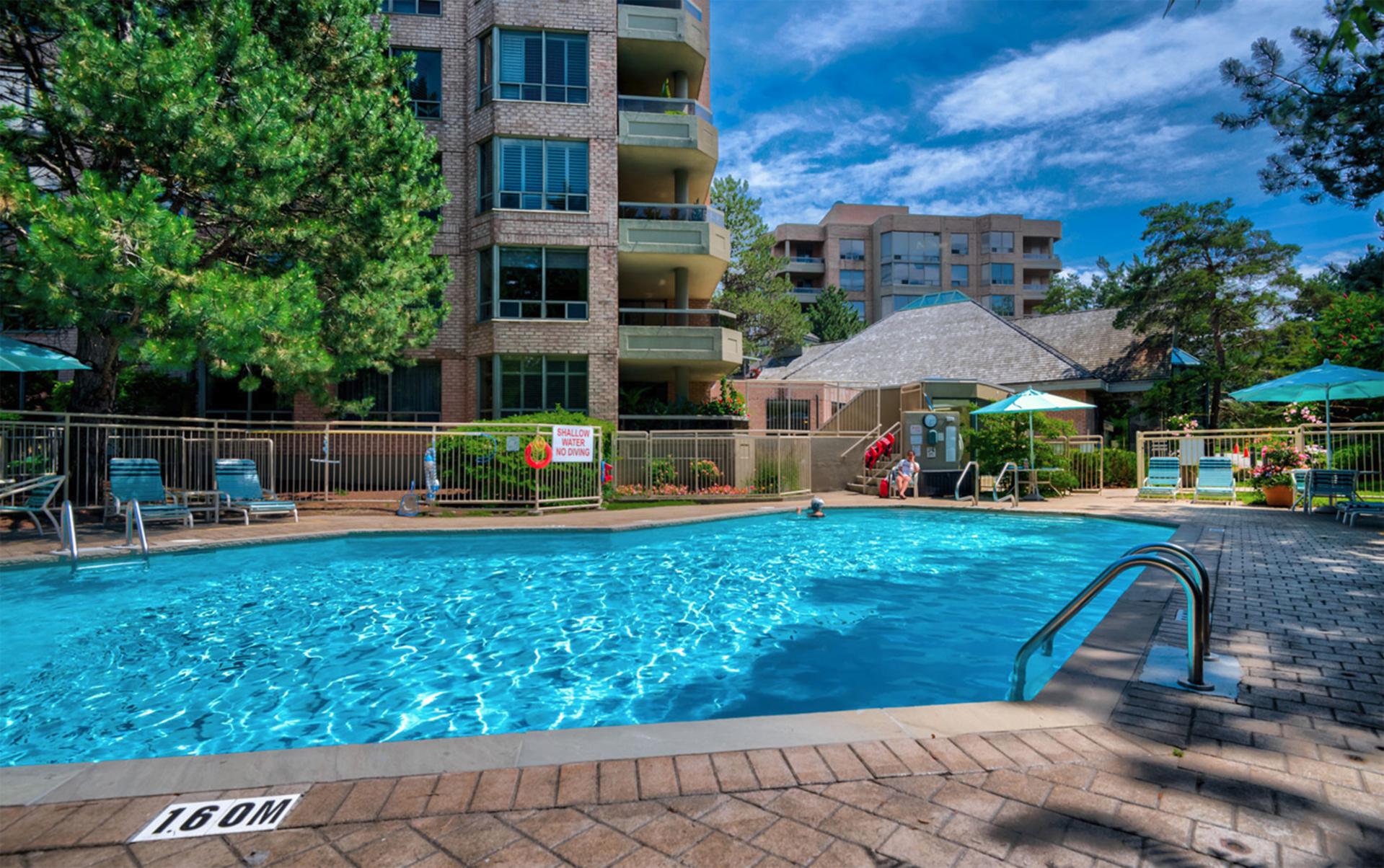 Pool at 519 - 1200 Don Mills Road, Banbury-Don Mills, Toronto