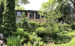 Backyard from Neighbours Yard at 10 North Hills Terrace, Banbury-Don Mills, Toronto